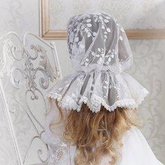 Кружевной платок для девочки