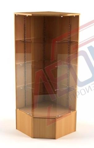 ВПН-503 Витрина угловая стеклянная