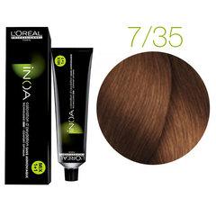 L'Oreal Professionnel INOA 7.35 (Блондин золотистый красное дерево) - Краска для волос