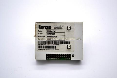 Lenze E82ZAFAC