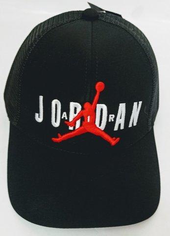 Популярная спортивная кепка с козырьком. Летняя бейсболка джордан Jumpman RN-Black.