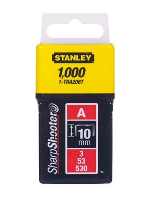 Скоба для степлера 10мм 53 А 1000шт Stanley 1-TRA206T