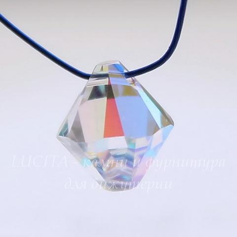6328 Подвеска Сваровски Биконус Crystal AB (8 мм) (Картинка)
