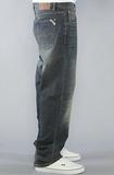 Широкие джинсы фото 5