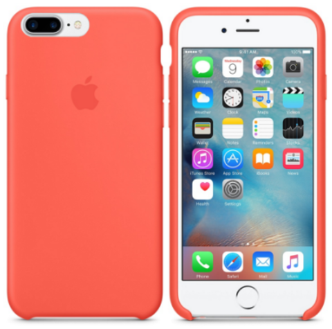 iPhone 7Plus/8Plus Silicone Case Абрикосовый