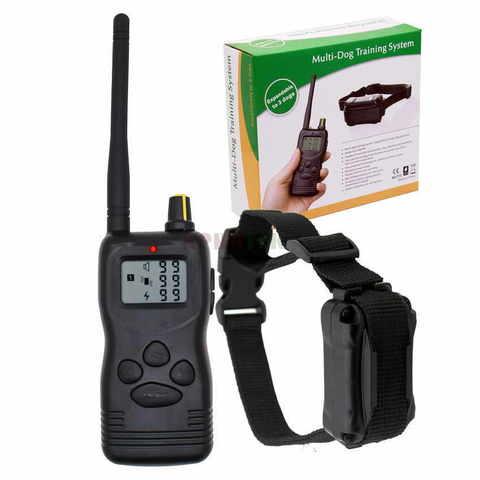 Электронный ошейник для дрессировки Petrainer Multi-Dog Training System