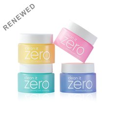 Набор очищающих бальзамов для снятия макияжа Clean It Zero от Banila Co, 4 шт. по 7 мл