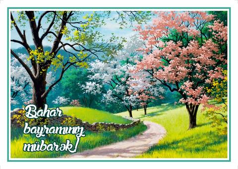 Açıqca (Открытки) Bahar bayramı