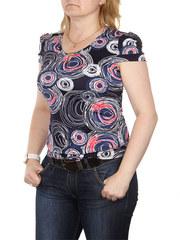A7-1 блузка женская, темно-синяя