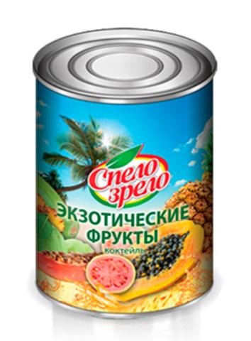 """Коктейль """"Спело зрело"""" экзотические фрукты 460мл"""