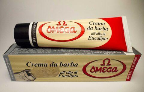 Крем для бритья Omega Эвкалипт большой тюбик 150 мл