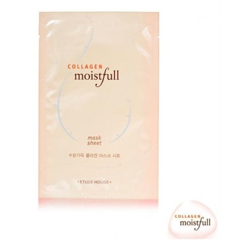 Etude House Маска для лица тканевая с коллагеном Moistfull Collagen Mask Sheet (23ml)