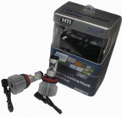 Светодиодные лампы MTF Light H11/H8/H9/H16 ACTIVE NIGHT 5500K