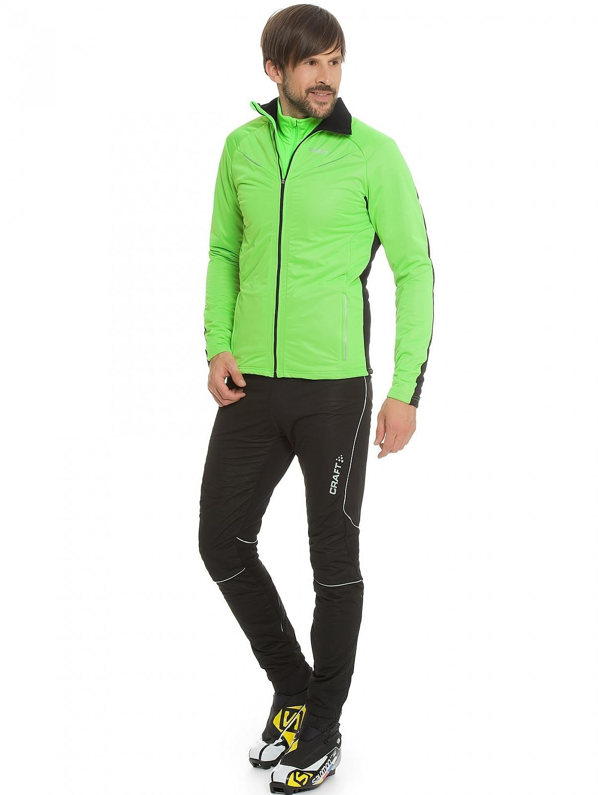 Мужская лыжная куртка крафт Storm (194653-9810)