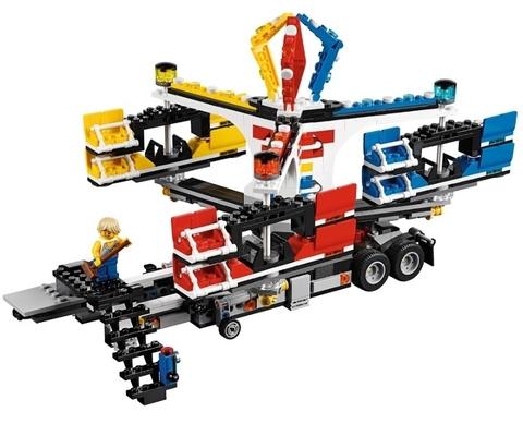 LEGO Creator: Ярморочная кутерьма / площадь 10244 — Creator Expert Fairground Mixer — Лего Креатор Эксперт