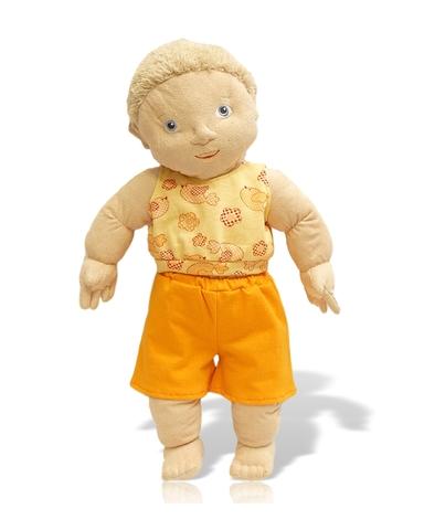 Летний костюмчик - На кукле. Одежда для кукол, пупсов и мягких игрушек.