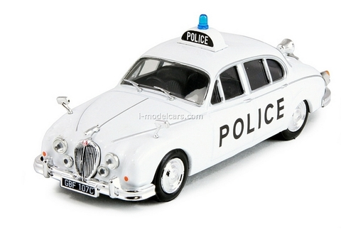 Jaguar MK II UK Police 1959 1:43 DeAgostini World's Police Car #3