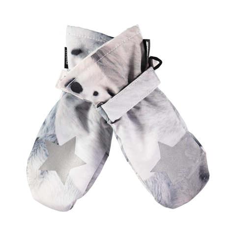 Варежки Molo Mitzy Polar Bear купить в интернет-магазине Мама Любит!