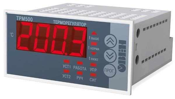 ТРМ500 экономичный терморегулятор с мощным реле и крупным индикатором