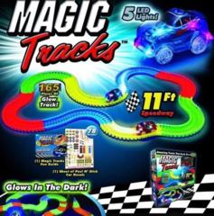 Magic Tracks - Большая гоночная трасса + 1 машинка (165 дет.)