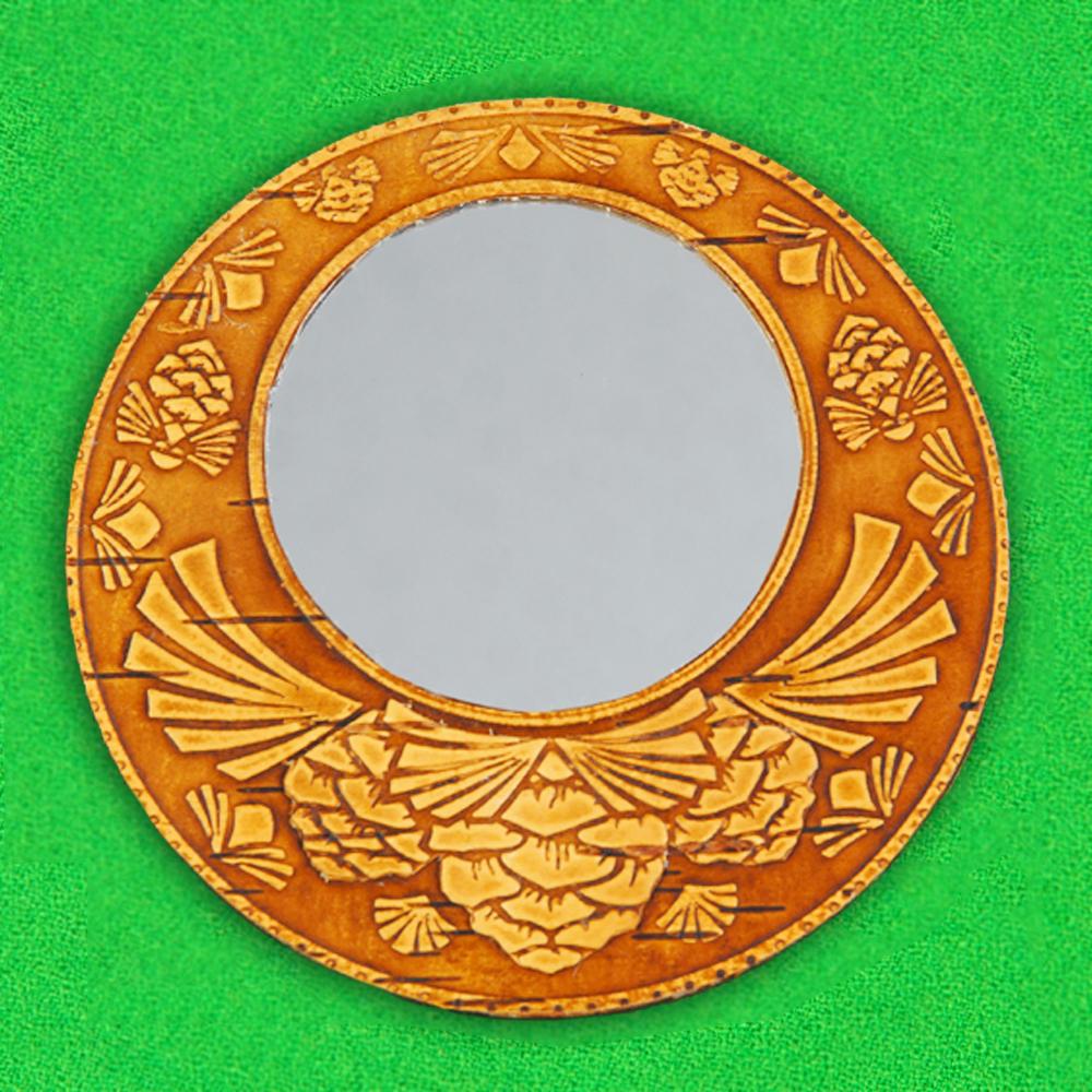 Зеркало Кедровая шишка