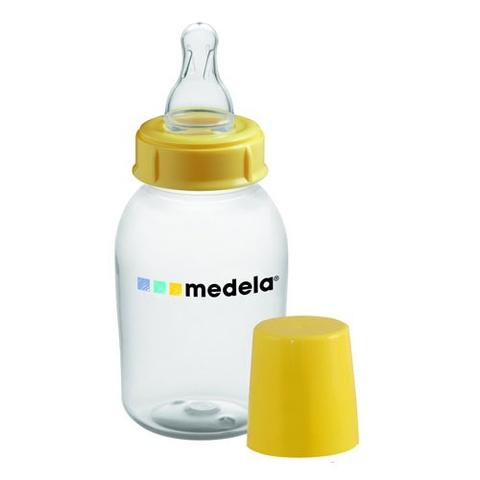 Medela. Бутылочка с силиконовой соской, 150 мл