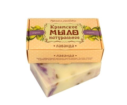 МДП Крымское натуральное мыло на оливковом масле ЛАВАНДА, 100г