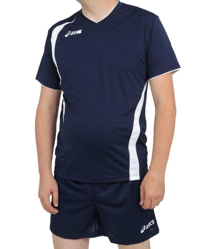 Форма волейбольная ASICS SET END MAN (T227Z1 4350) темно-синяя фото