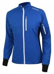 Куртка для бега Noname Robigo синяя унисекс