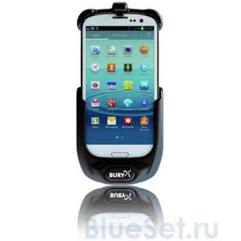 BURY UNI System 9 громкая связь Bluetooth с держателем и зарядкой для Samsung Galaxy S3