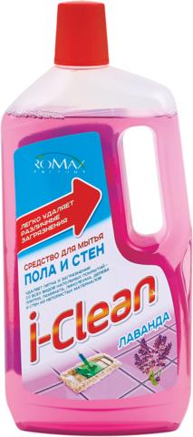 Фабрика Ромакс i-Clean Средство для мытья пола и стен Лаванда 1л