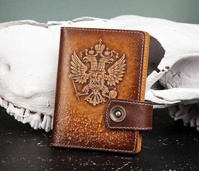 BY11-01-04 Обложка для документов с Гербом России