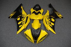 Комплект пластика для мотоцикла Yamaha YZF-R6 08-15 Черно-Желтый