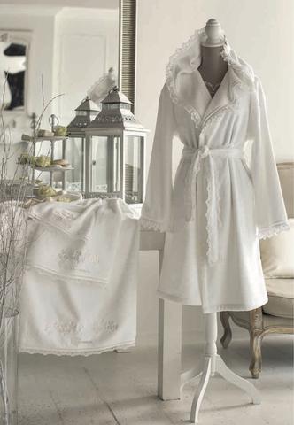 Набор полотенец 2 шт Blumarine Delizia розовый