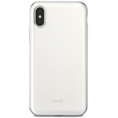 Чехол Moshi  iGlaze for iPhone XS/X белый, из ударопрочного пластика