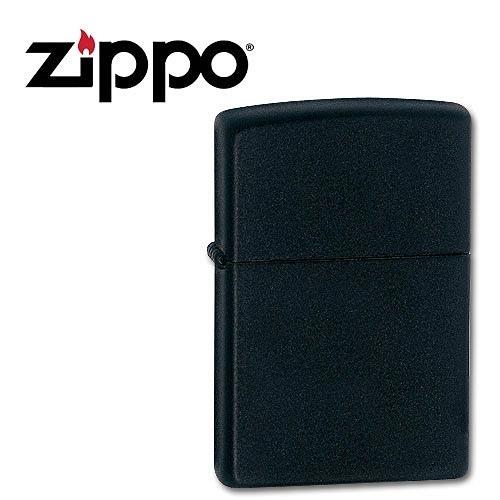 Зажигалка Zippo (218) Black Matte