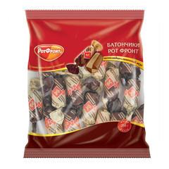Конфеты Батончики шоколадно-сливочный вкус 250г