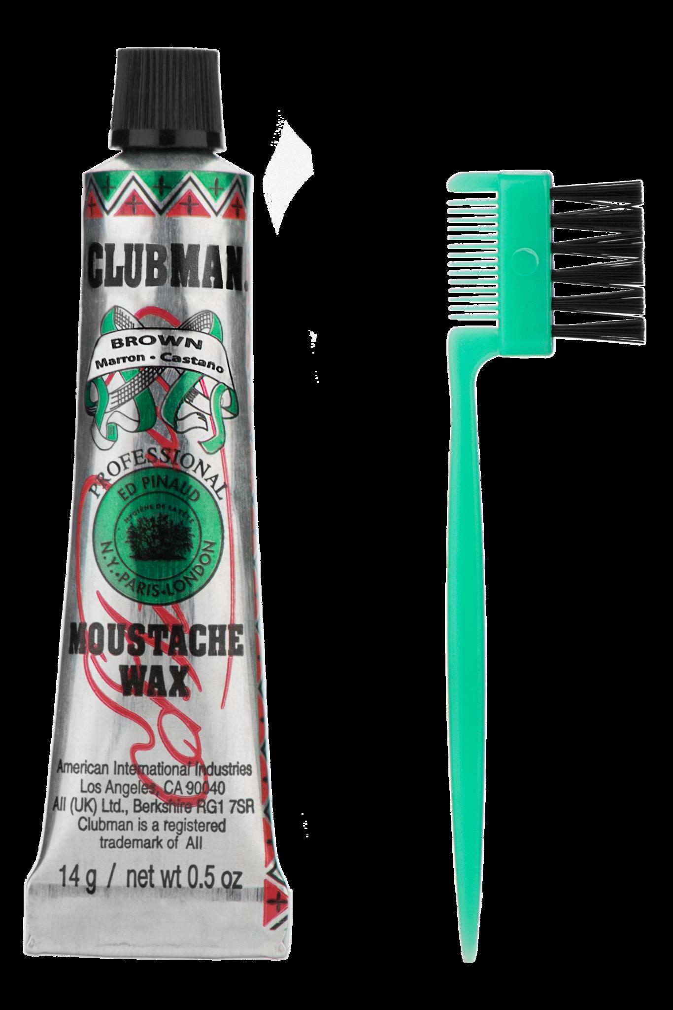 Воск для укладки и подкрашивания бороды Clubman