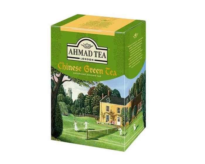 Чай зеленый листовой Ahmad Tea китайский, 200 г