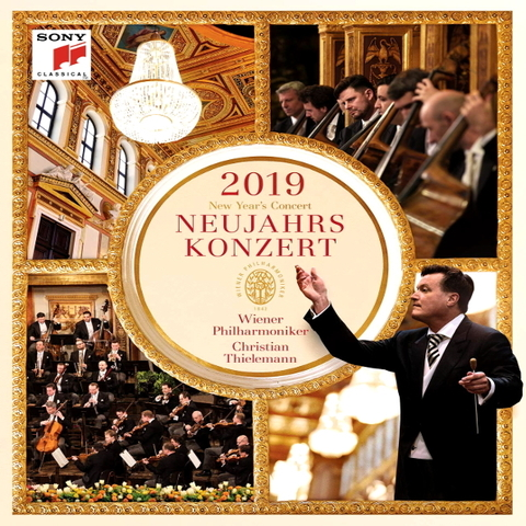 Vienna Philharmonic, Christian Thielemann / New Year's Concert 2019 (2CD)