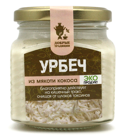 Урбеч из кокоса, GoodTraditions, 230 г