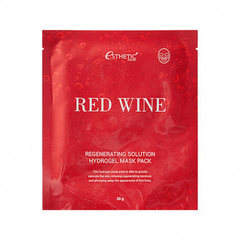 Esthetic House Red Wine Regenerating Solution Hydrogel Mask Pack