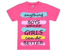 19065-38 футболка детская, розовая
