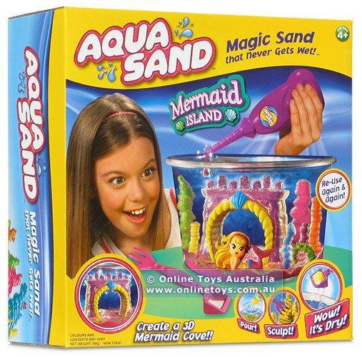 Aqua Sand - гидрофобный песок