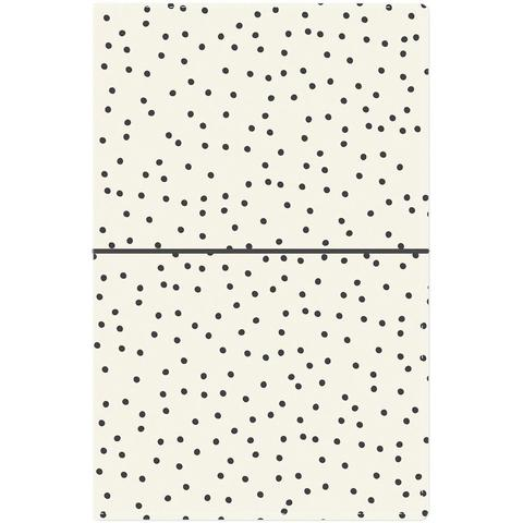 Блокнот (14,5х22 см)- Carpe Diem Traveler's Notebook- Cream Dot