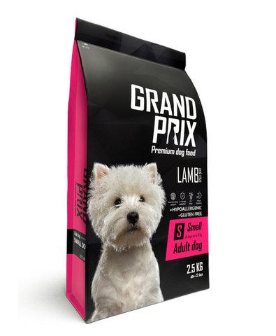 Grand Prix Small Adult корм для взрослых собак мелких и миниатюрных пород (с ягненком) 2,5кг
