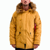 Куртка Аляска Зимняя - Explorer (горчичный - mustard)