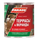 Лак алкидно-уретановый PARADE L25 Террасы & Веранды