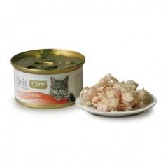 Консервы для кошек, Brit Care, куриная грудка
