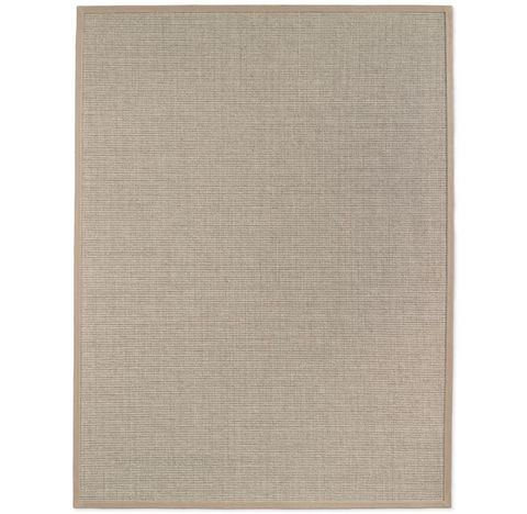Belgian Looped Wool Sisal Rug - Cream